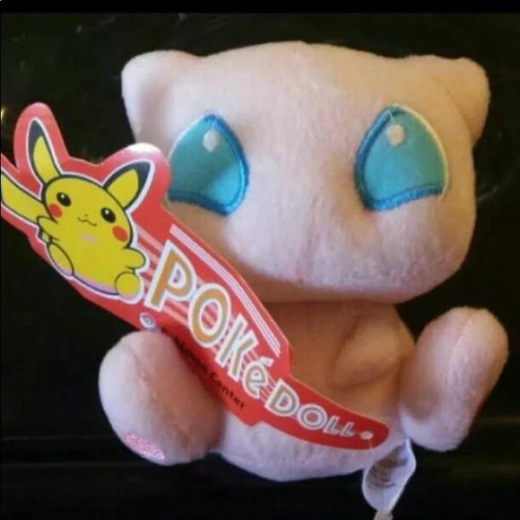 Pokemon Other - RARE MEW POKEMON PLUSH